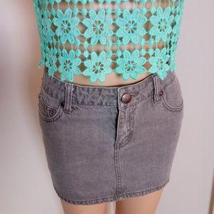 Dream Out Loud Jean Mini Skirt Size 5